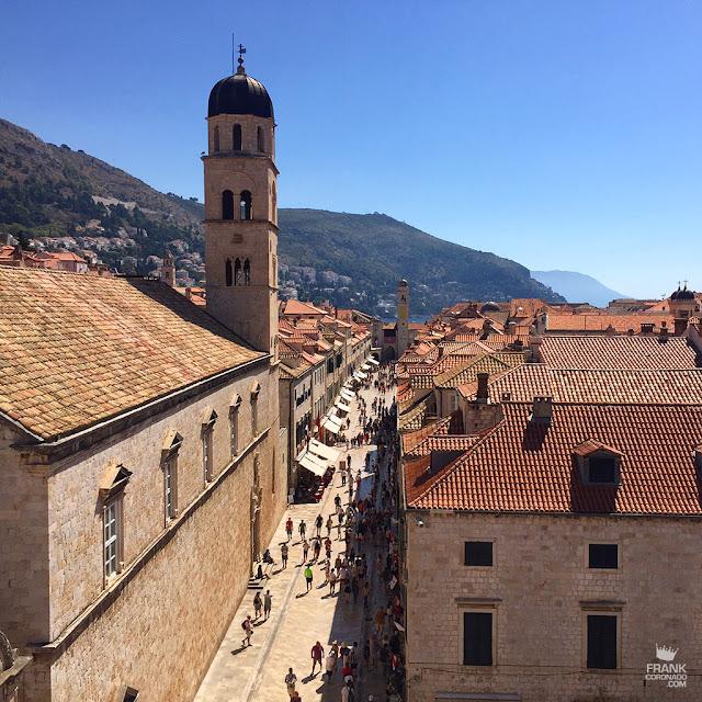 calle stradun de dubrovnik en croacia