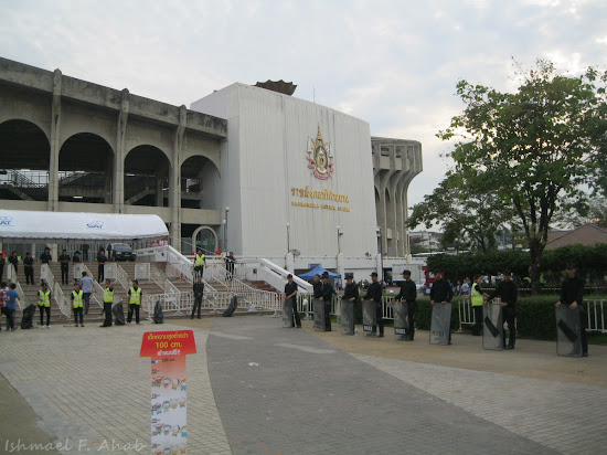 Rajamangala National Stadium of Bangkok