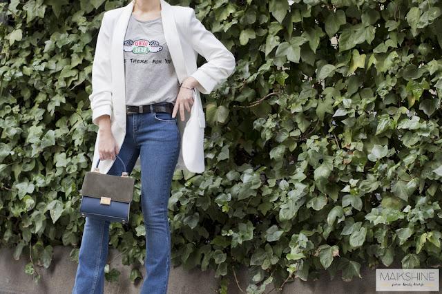 outfit blazer CLP - Maikshine blog