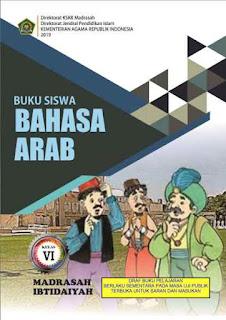 Buku Bahasa Arab MI Kelas 6