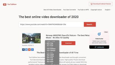 Cara Download Video Youtube Tanpa Aplikasi dengan YouTubNow