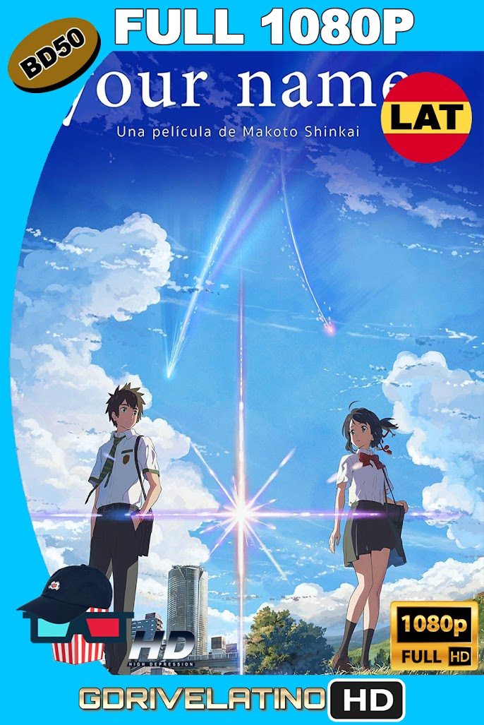 Your Name (2016) BD50 FULL 1080p Latino-Japones ISO