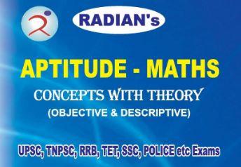 Radian IAS Academy   English Medium Aptitude Maths Mental Ability TNPSC, UPSC, POLICE, SI, SSC