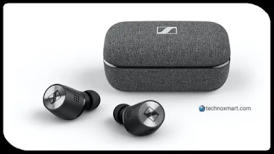 Sennheiser Momentum True Wireless 2 Earphones Launched With Active Noise Cancellation In India With A Price Tag Of Rs.24,990.