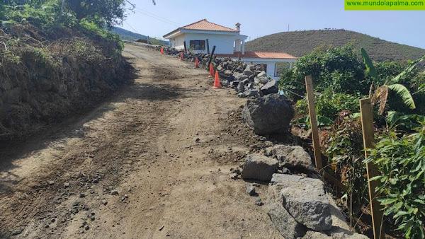 CC de Puntallana denuncia la lentitud de las obras en el barrio de El Granel