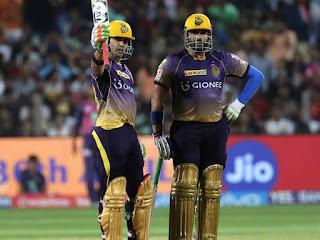 Gautam Gambhir 71* - KKR vs DD 32nd Match IPL 2017 Highlights