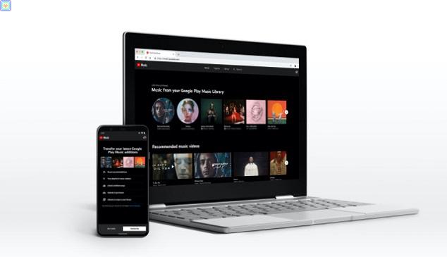 تتيح الطبقة المجانية من YouTube Music إمكانية الإرسال إلى المكتبة الشخصية