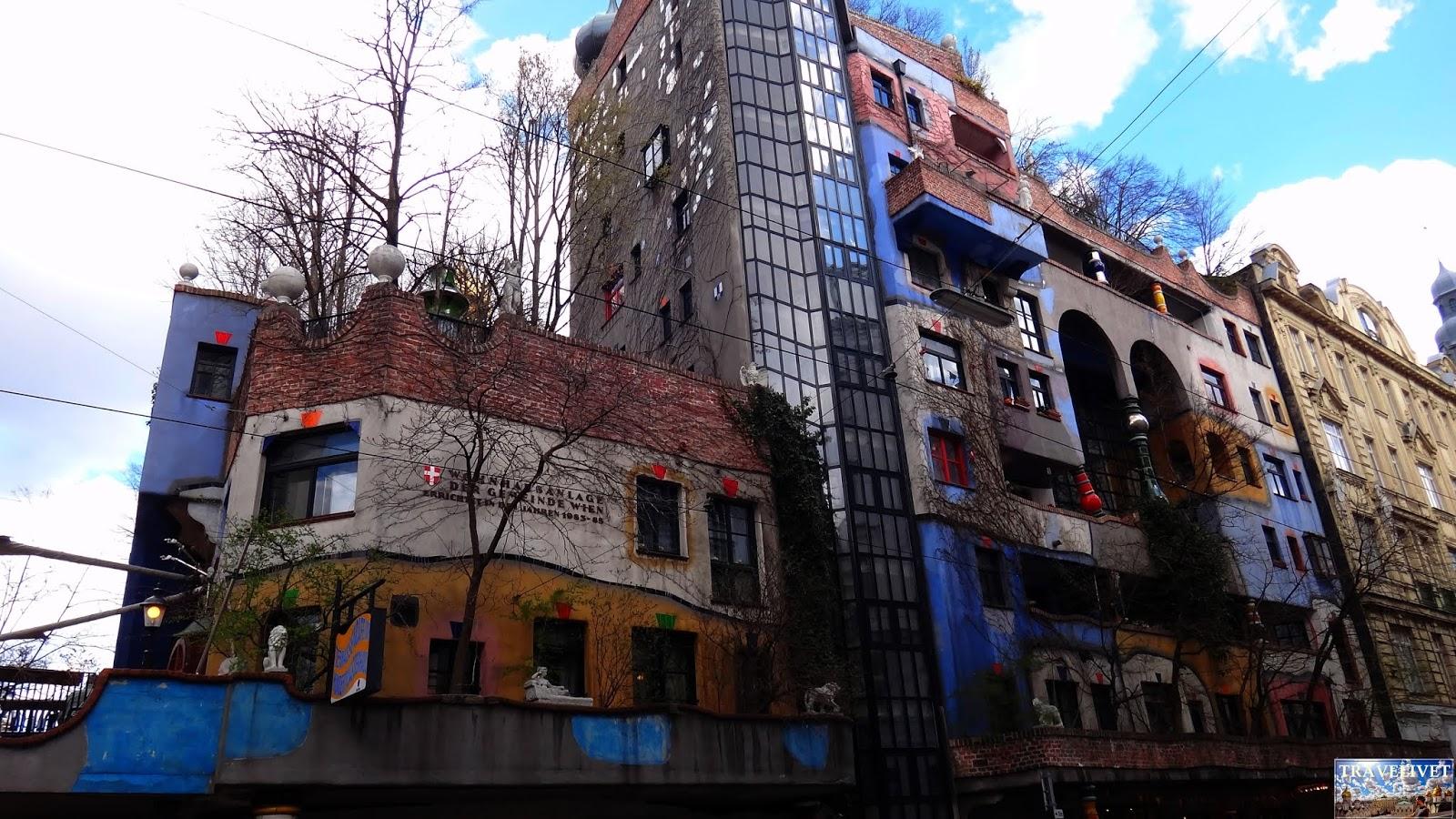 Autriche Vienne Hundertwasserhaus