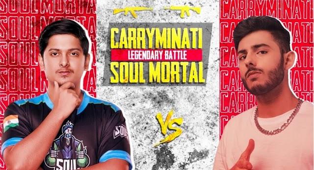 CarryMinati Vs Mortal | Who is The Winner of PUBG Mobile Challenge