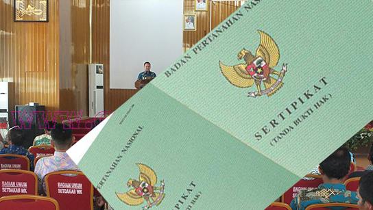 Biaya Sertifikat Prona Waykanan Ditetapkan Rp200 Ribu, Jika Lebih Pungli