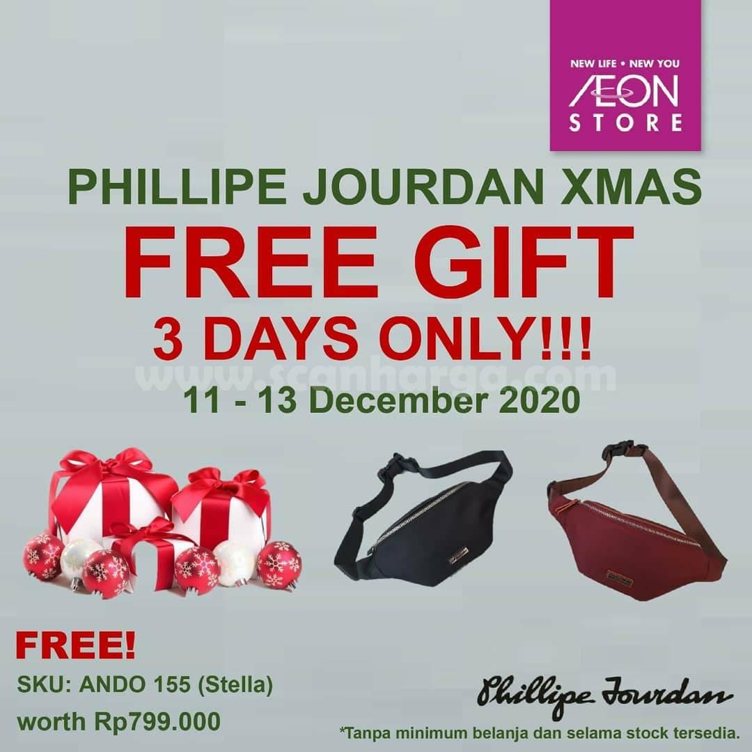 AEON Promo Phillipe Jourdan Gratis Waist Bag Stella senilai Rp 799.000,-