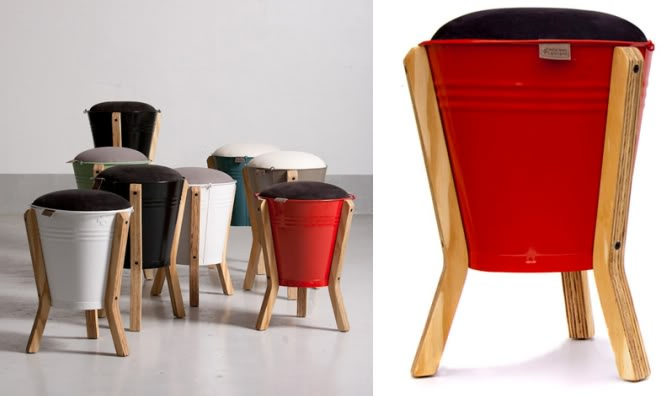 How To Recycle Interesting Recycled Stool Chair
