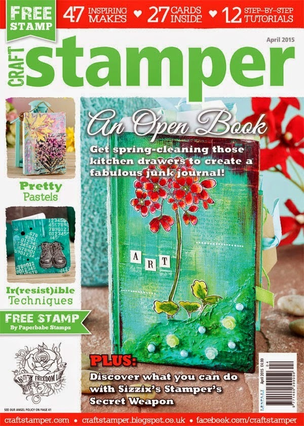 Craft Stamper April 2015