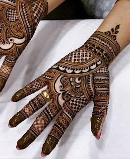 bridal mehndi design 2021