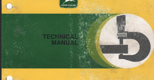 John Deere 6800 Tractor Service Repair Manual