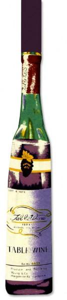 Corbata botella de vino