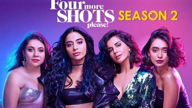 Picture Scene on Four More Shots Please season 2 Web Series, Amazon Prime Screen