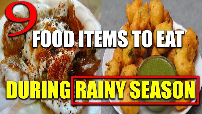 Healthy Food For Rainy Season In India