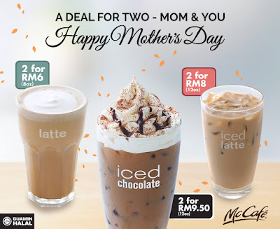McCafe Mother's Day Deals