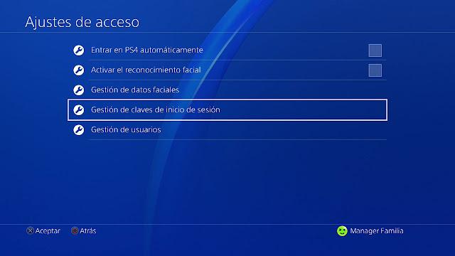 Guía para configurar el control parental en PS4