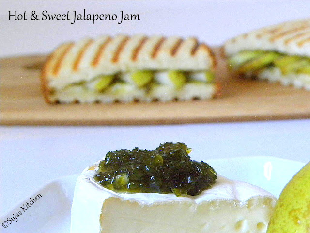 How to make Sweet & Spicy Jalapeno Jam