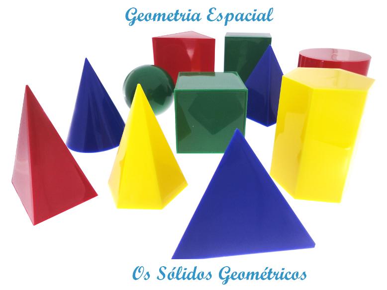 Geometria Espacial – Os Sólidos Geométricos