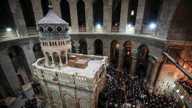 Ανοίγει και πάλι την Κυριακή στα Ιεροσόλυμα ο Ναός της Αναστάσεως