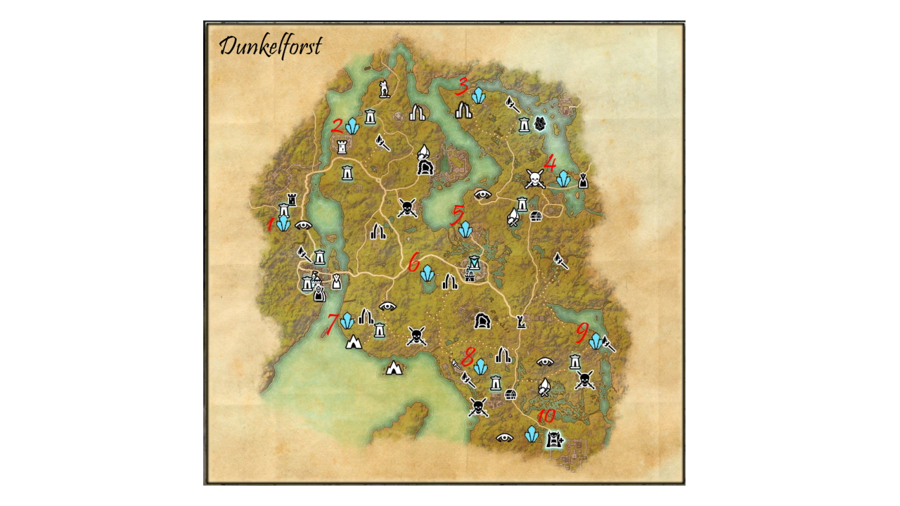 How to get all Skyshards in Darkforest (Blackwood)