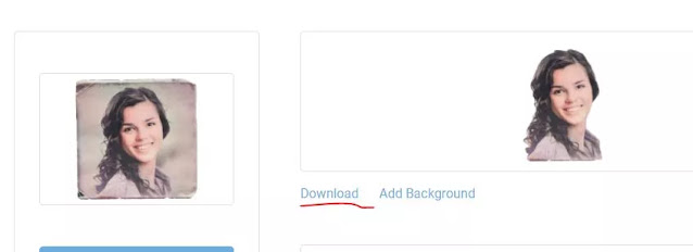 طريقة لإزالة خلفية الصور بدون برامج