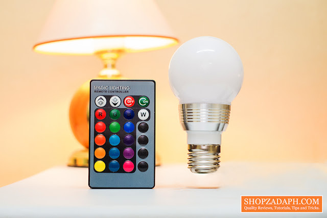 color changing light bulb review