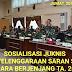 KODAM II/SRIWIJAYA GELAR SOSIALISASI JUKNIS SARAN STAF SECARA BERJENJANG TA. 2020