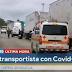 Transportista nicaragüense da positivo por COVID-19 en Costa Rica