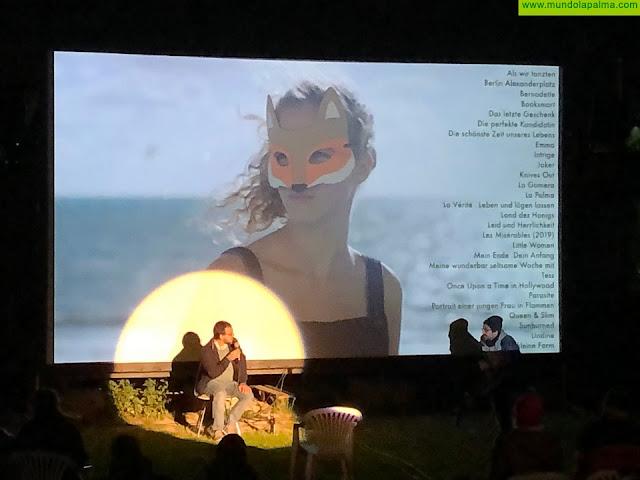 La película 'La Palma', rodada íntegramente en la Isla, se proyecta durante el día de hoy en una veintena de ciudades de Alemania