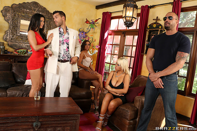 Bridgette B, Abigail Mac - Pussy O Plomo Part 2 (ZZSeries)