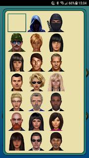 The App's avatar selector