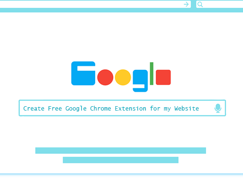 Create Google Chrome Extension For Free