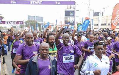 Beyond Zero half-Marathon in Nairobi. PHOTO | BMS