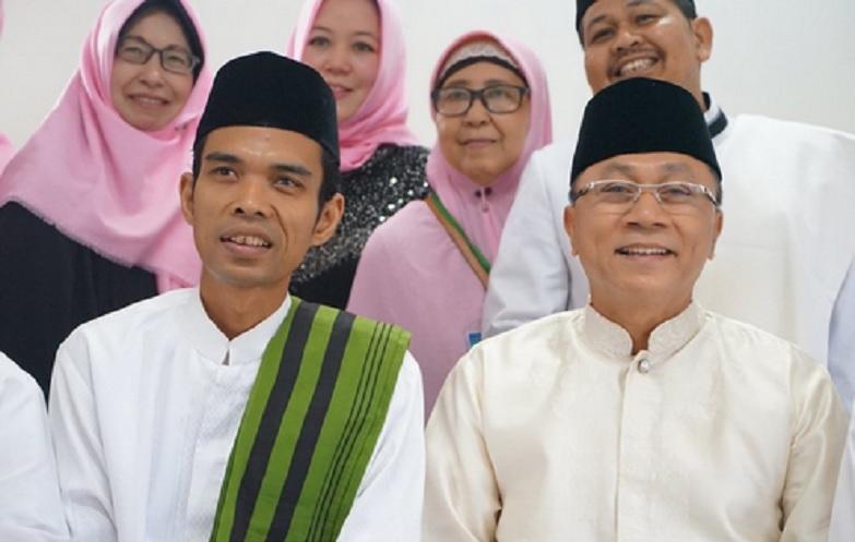 Zulkifli Hasan dan Ustadz Abdul Somad