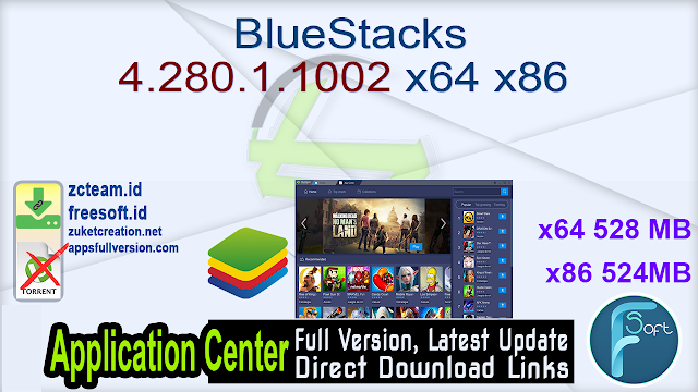 BlueStacks 4.280.1.1002 x64 x86