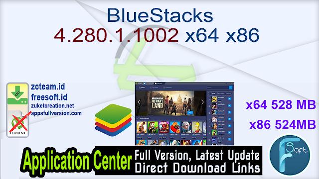 BlueStacks 4.280.1.1002 x64 x86