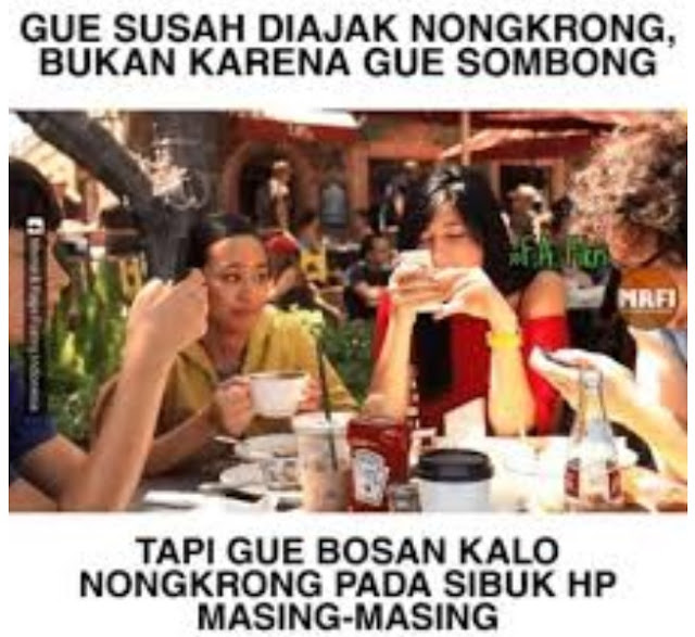 10 Meme Lucu 'Nongkrong di Cafe' Ini Bikin Ngakak Anak Tongkrongan