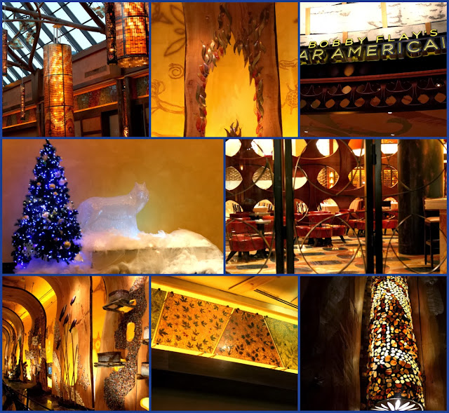 Mohegan Sun during the holidays
