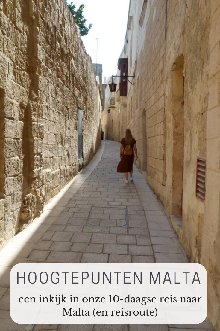 Een 10-daagse rondreis door Malta (reisroute) - a floral sunset