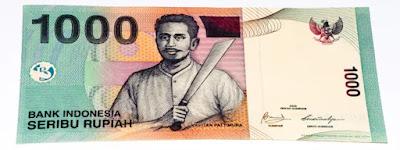 Pahlawan Pada Uang Rp. 1000, Keluaran Tahun 2000 dan 2016