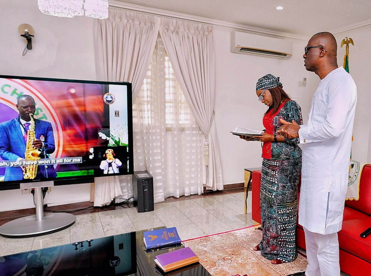 How Nigerian's Held Easter Mass Services Online Due to Covid-19 Lockdown