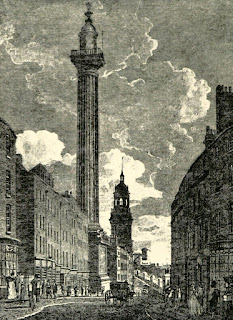 The Monument 1809 from History of the Monument by C Welch (1893)