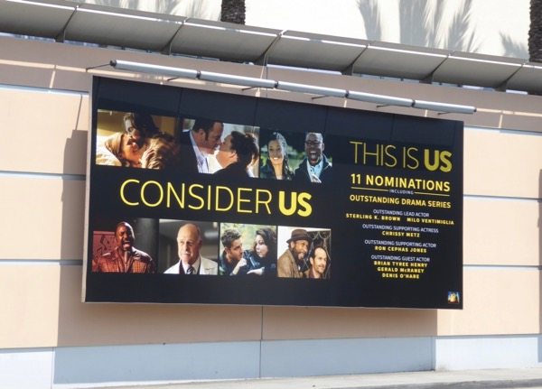 This Is Us Emmy nominations billboard