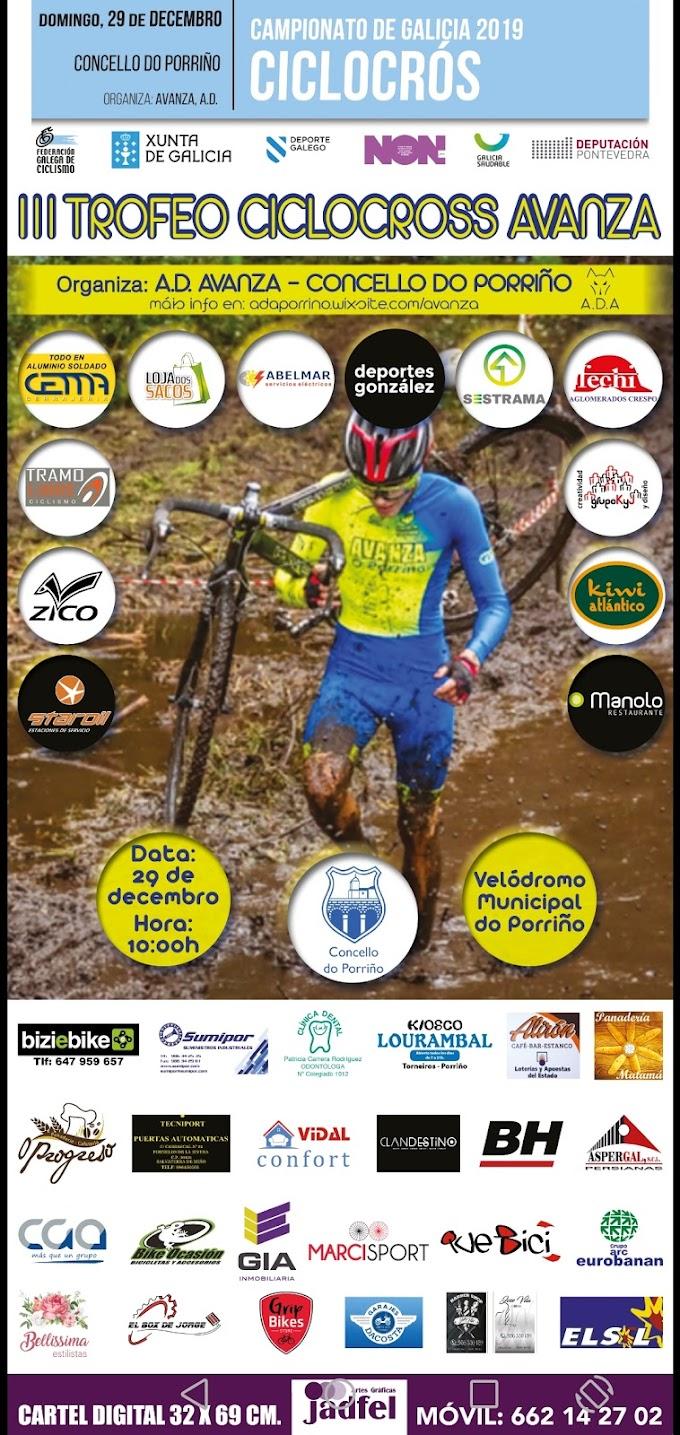 El Campeonato Gallego de Ciclocross se disputará este domingo en O Porriño