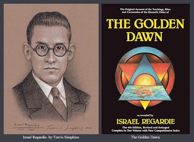 Israel Regardie. Qabalah. Hermetic Order of the Golden Dawn. Ceremonial Magick. by Travis Simpkins