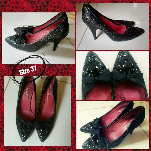 glitter heels sale